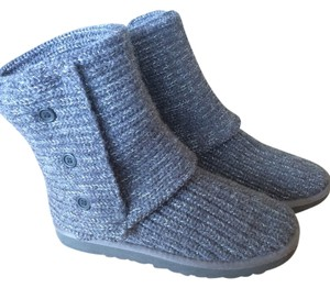 3108d6f007c UGG Australia Charcoal Silver Classic Cardy Boots/Booties Size US 7 Regular  (M, B) 42% off retail