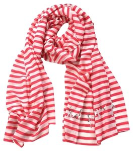 Kate Spade Kate Spade Winter Painterly Stripe Scarf