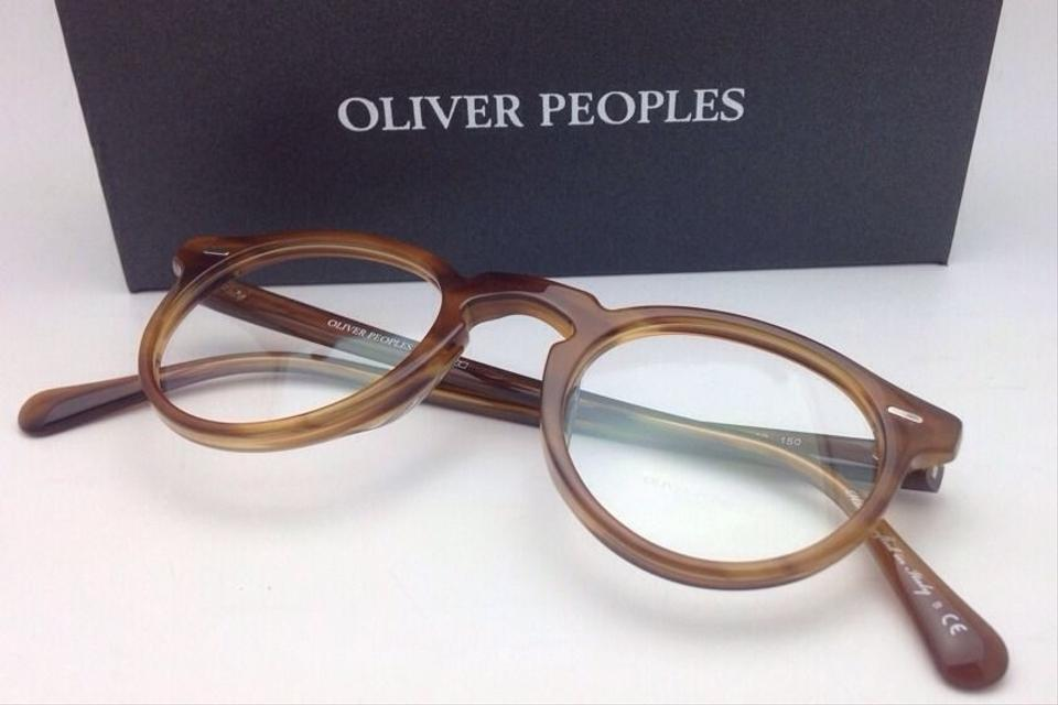 cb4143e47f Oliver Peoples New OLIVER PEOPLES Eyeglasses GREGORY PECK OV 5186 1011 47-23  Raintree Round. 1234567