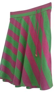 Lilly Pulitzer Mini Skirt Pink & Green