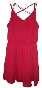 by&by short dress Hot red on Tradesy