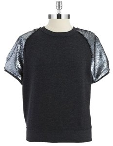 Guess Crew Neck Sequin Sweater