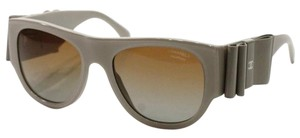 Chanel Beige Sunglasses Patent Bow