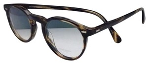 Oliver Peoples New OLIVER PEOPLES Eyeglasses GREGORY PECK OV 5186 1003 47-23 Round Cocobolo Frames