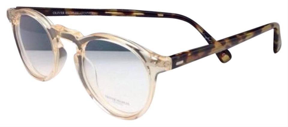 aa18eb3aa8 Oliver Peoples New OLIVER PEOPLES Eyeglasses GREGORY PECK OV 5186 1485 47-23  Round Buff ...