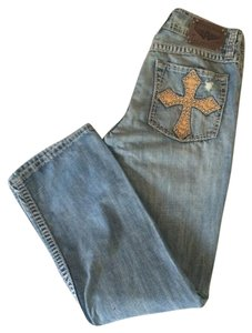 Affliction Boot Cut Jeans-Distressed