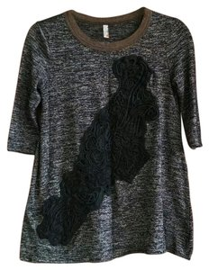 Free People T Shirt Black/Gray