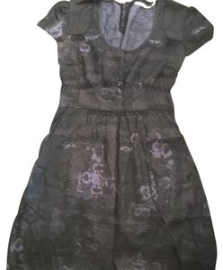 Kimchi Blue short dress Black patterned on Tradesy