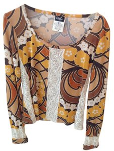 Dolce&Gabbana Top Browns/Oranges