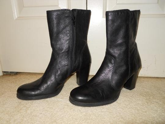 Gianni Bini Leather black Boots