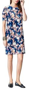 J.Crew short dress Midnight ocean Size00 on Tradesy