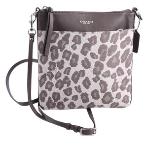 Coach Leopard Cross Body Bag