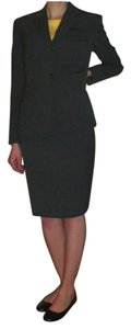 Jones New York Dark Gray Skirt Suit Set