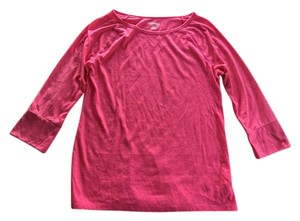 Old Navy Relaxed Cotton New T Shirt Pink