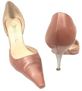 Chanel Copper Pumps