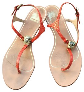 Dolce Vita Orange Sandals