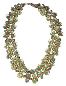 Send the Trend Gold Statement Necklace