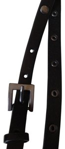 Calvin Klein Calvin Klein Black Leather Belt