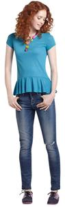 Anthropologie T Shirt NWT Turquoise