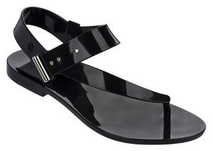 Melissa Vegan Black Sandals