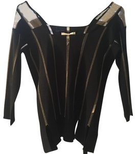 Jean-Paul Gaultier Top Black & gold