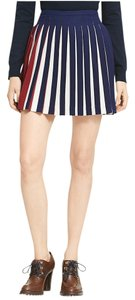 Tommy Hilfiger Pleated Mini Skirt Multi-Color