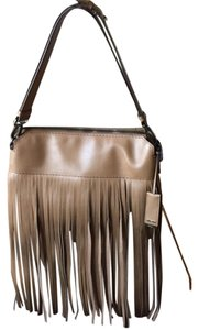 Miu Miu Leather Fringe Shoulder Bag