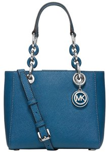 Michael Kors Satchel in Steel Blue