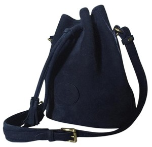 Dooney & Bourke Tassles Vintage Nubuck Shoulder Bag
