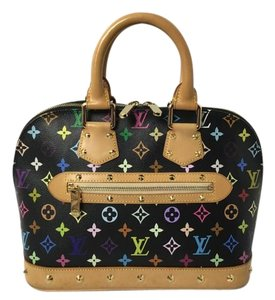 Louis Vuitton Alma Multicolor Alma Satchel