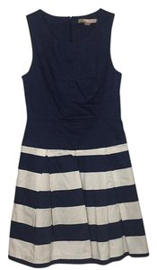 Forever 21 short dress Navy Blue & White on Tradesy