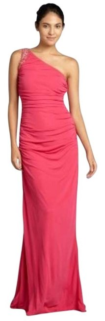 Preload https://item5.tradesy.com/images/badgley-mischka-hot-pink-319437601-long-formal-dress-size-14-l-168919-0-6.jpg?width=400&height=650