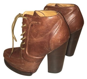 Jeffrey Campbell Oxford Campell Brown Boots