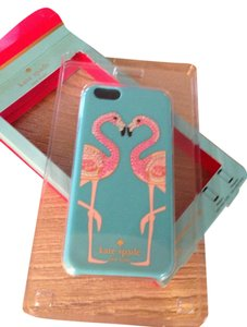 Kate Spade Kate Spade Jeweled Embellished Flamingo Cell Phone Cover Hardshell for iPhone 6 & 6s