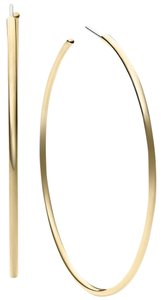Michael Kors Michael Kors Large Delicate Hoop Earrings Gold