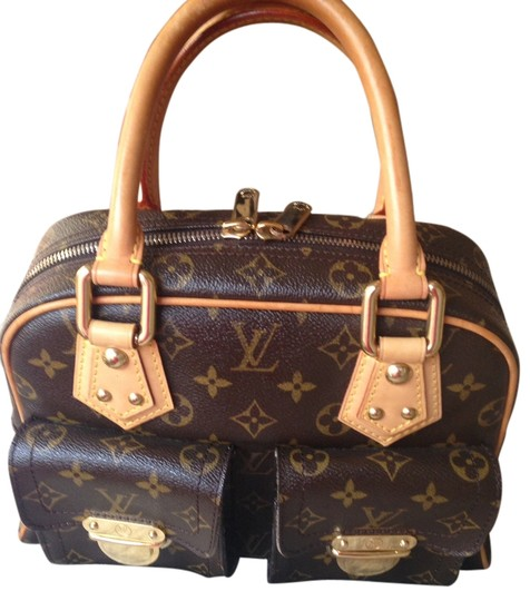 b0bc2f9b2bc2 Louis Vuitton Manhattan Pm Monogram Satchel - Tradesy
