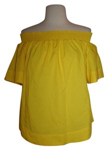 J.Crew Top Vivid Lemon