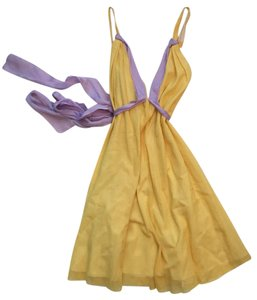 Roland Mouret short dress Yellow Pastels Wedding on Tradesy