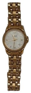 Tissot (Swiss made) Tissot Classic Women's Quarts White Dial Watch With Gold Stainless Steel Bracelet