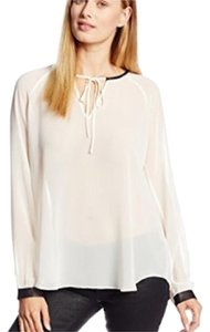 Kenneth Cole Top Cream/Black
