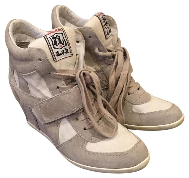 Item - Taupe Bowie Sneakers Size US 8 Regular (M, B)
