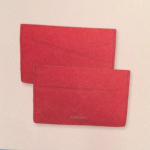 Sorial PopSugar Must Have July 2015 Sorial Card Case in Scarlett NEW!