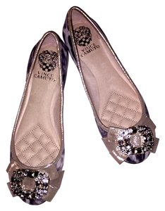 Vince Camuto silver and grey Flats