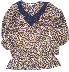 Jones New York Top Leopard