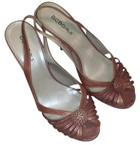 BCBGeneration Iridescent Mauve/Pink Sandals