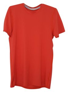 Patagonia Workout Breathable T Shirt red