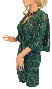 Custo Barcelona short dress Green and Navy on Tradesy