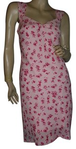 Jonathan Martin short dress pink on Tradesy