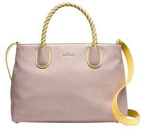 Kate Spade Satchel in almondine/sunlight Gold tone