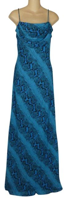 Preload https://item4.tradesy.com/images/onyx-nite-snakeskin-sexy-dress-blue-1689593-0-0.jpg?width=400&height=650